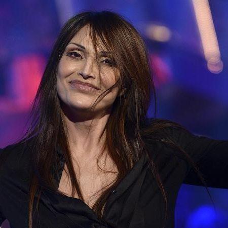 Anna Oxa durante la puntata de 'La prova del cuoco', abbinato all'estrazione della lotteria Italia, il 6 gennaio 2013 a Roma. ANSA/ GUIDO MONTANI